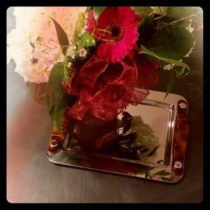 Vintage Oscar de la Renta vanity tray
